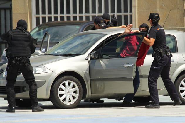 Jornadas policiales realizadas en la comunidad de Galicia