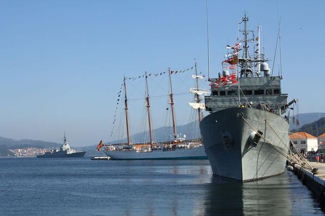 Patrullero Centinela (P-72) de la Armada Española Naval