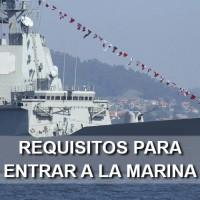 requisitos para entrar a la marina