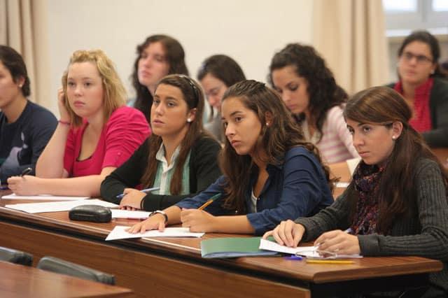 estudiantes de maestría