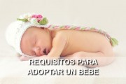 requisitos para adoptar un bebe