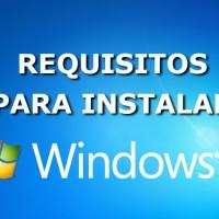Requisitos para Instalar Windows 7
