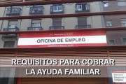 Requisitos para cobrar la ayuda familiar