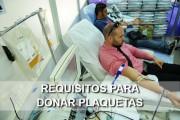 requisitos para donar plaquetas
