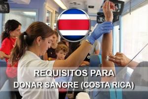 Requisitos para donar sangre en Costa Rica