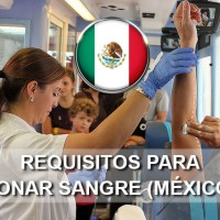 requisitos para donar sangre en mexico
