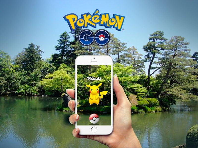 pikachu en pokemon go