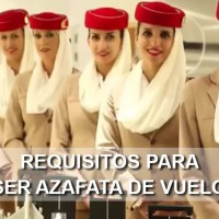 requisitos azafata vuelo