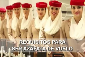 Requisitos para ser Azafata de vuelo TCP