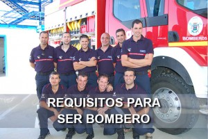 Requisitos para ser bombero en España