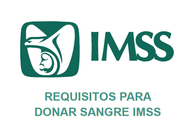 requisitos donar sangre imss
