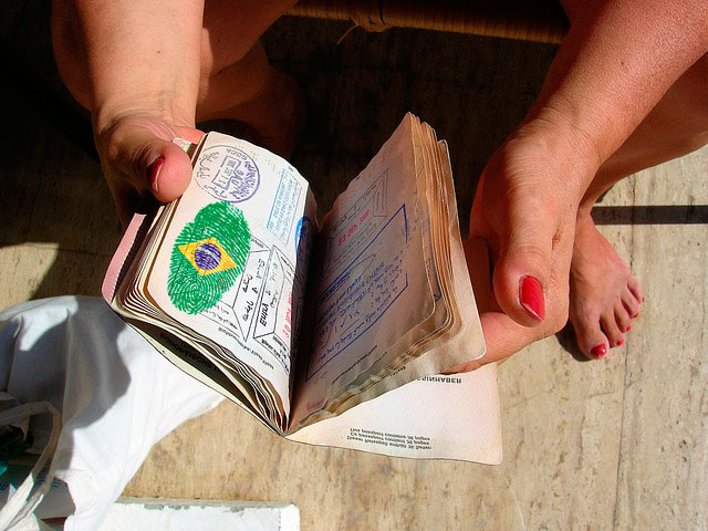 pasaporte para viajar a brasil