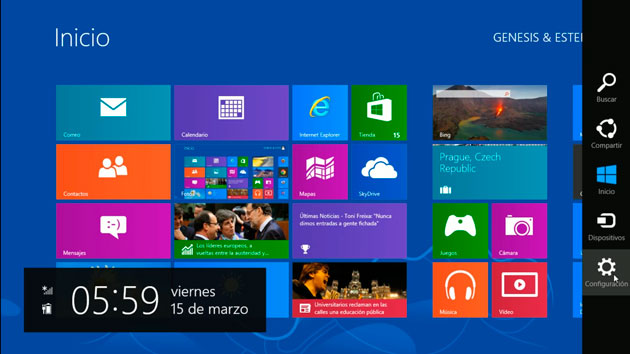 menu inicio windows 8
