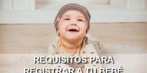registrar bebé