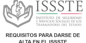 Requisitos alta ISSSTE