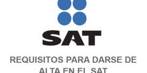 requisitos alta SAT