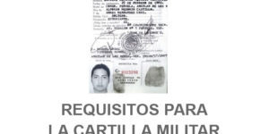 requisitos cartilla militar