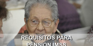 requisitos para pension imss