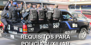 requisitos policia auxiliar