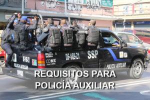 requisitos policia auxiliar