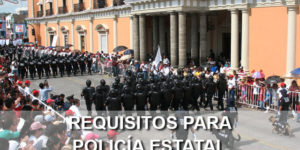requisitos policia estatal