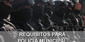 requisitos policia municipal