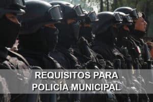 requisitos policia municipal