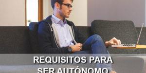 requisitos autónomo