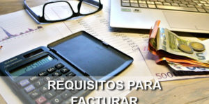 requisitos para facturar