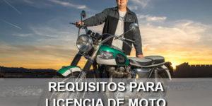 requisitos licencia motocicleta