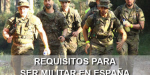 requisitos para ser militar en España