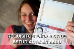 Requisitos para solicitar la visa de estudiante en Estados Unidos