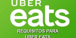 Requisitos Uber eats