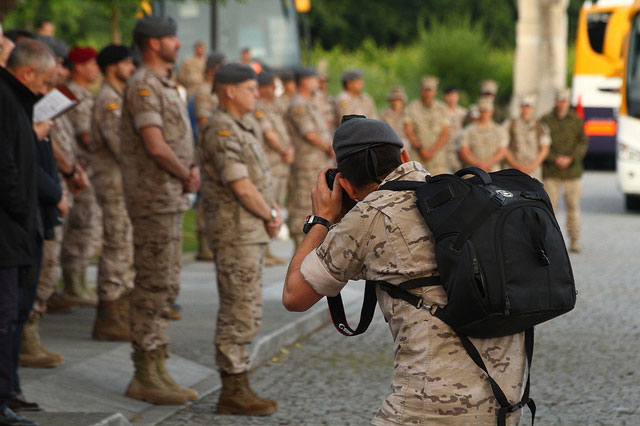 soldados del ejército español