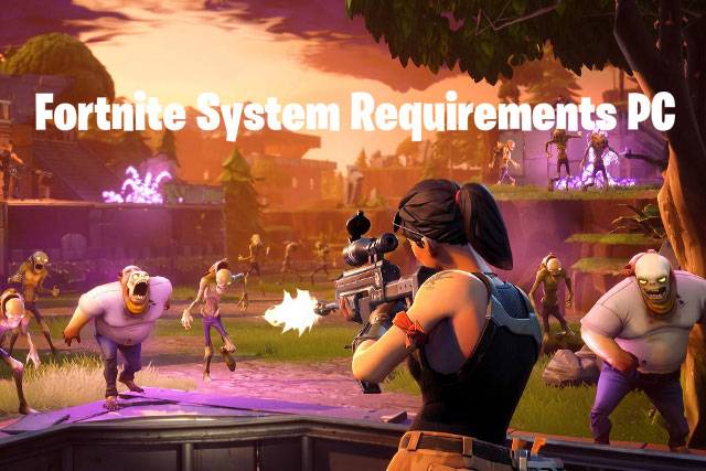 requirements for fortnite