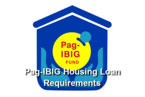 pag ibig housing loan requirements