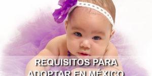 requisitos para adoptar en México