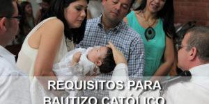 requisitos bautizo