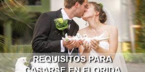 requisitos boda Florida