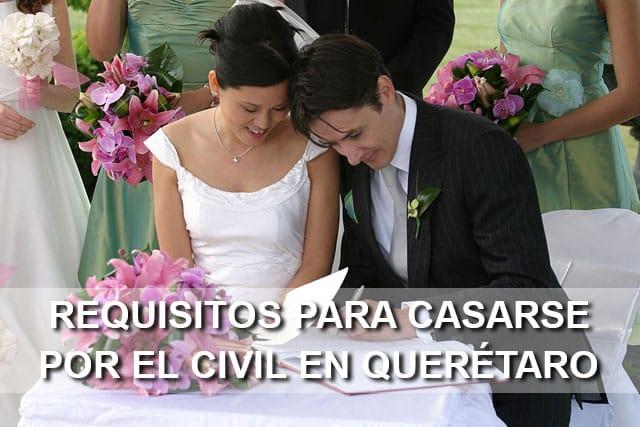 Requisitos para casarse por el civil en quer taro tu boda civil - Requisitos para casarse ...