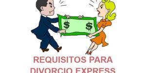 requisitos divorcio express