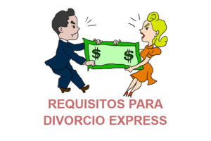 Requisitos para divorcio express