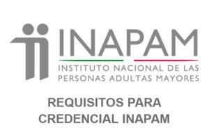 Requisitos para credencial INAPAM
