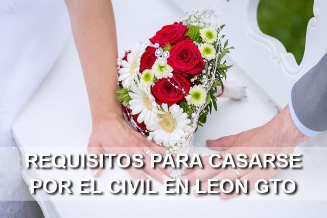 Requisitos legales para casarse por el civil en le n gto - Requisitos para casarse ...