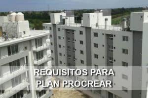 requisitos para el plan procrear
