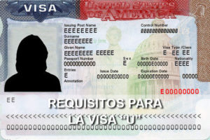 requisitos visa u