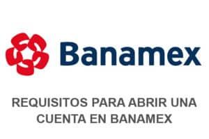 abrir cuenta banamex
