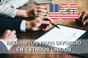 Divorcio en Estados Unidos