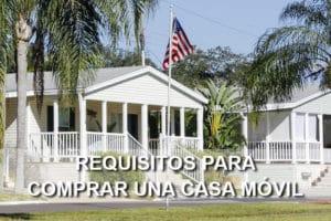 requisitos comprar casa móvil