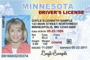 licencia de conducir de Minnesota